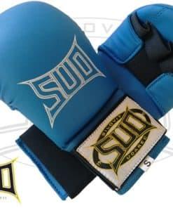 Rokavice za karate modre