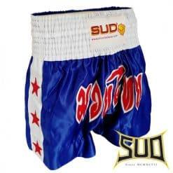 hlače za tajski boks modre