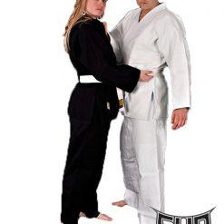 Judo in ju-jitsu kimone