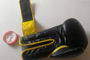 Boksarske rokavice in soda bokarbona