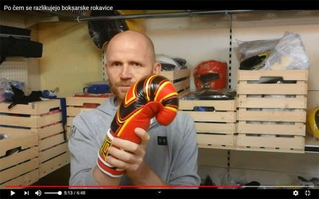 Po čem se razlikujejo boksarske rokavice