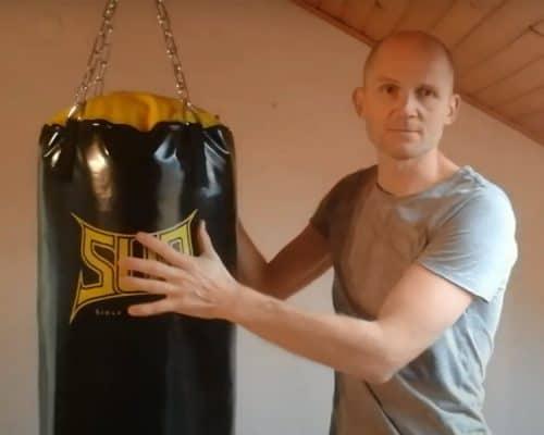 Montaža boksarske vreče