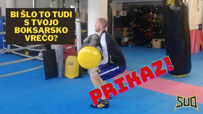 Boksarska vreča in trening z njo